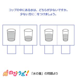 やってみよう「水の量」の問題10