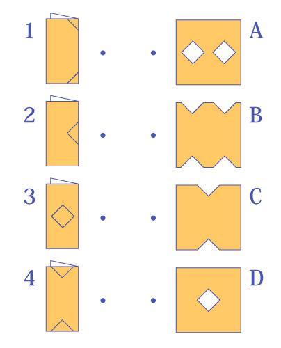やってみよう! 折り紙展開(2)
