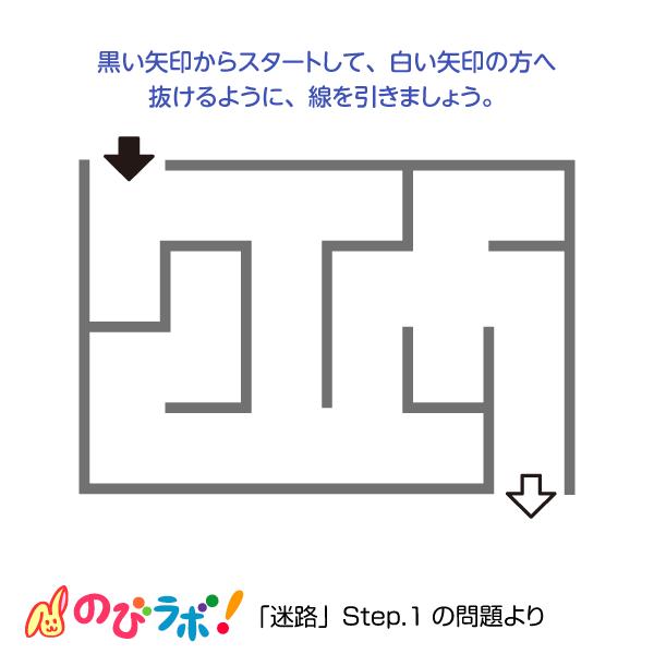 やってみよう「迷路」の問題12