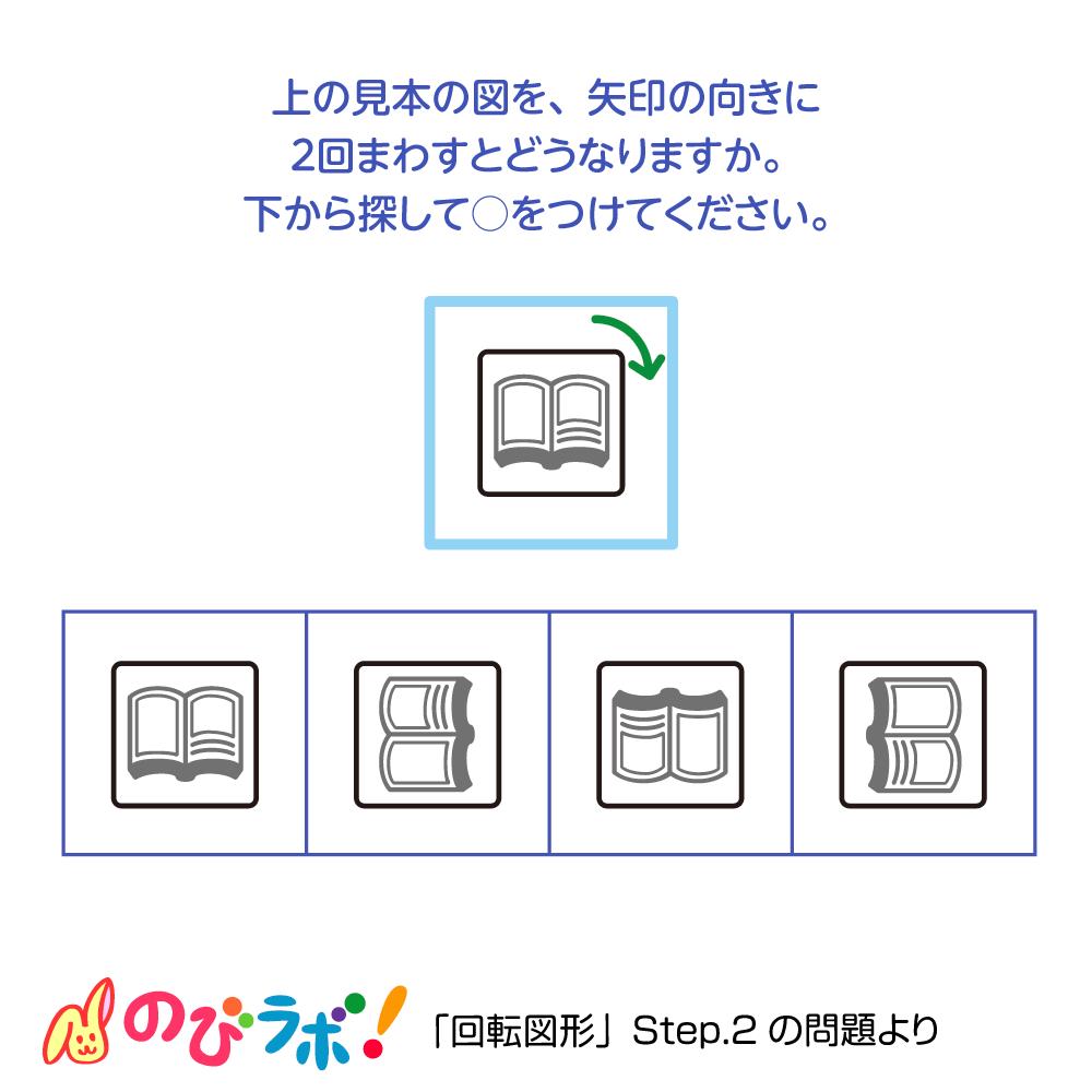 やってみよう「回転図形」の問題14
