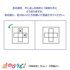 やってみよう「回転図形」の問題9