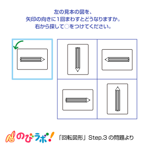 やってみよう「回転図形」の問題11
