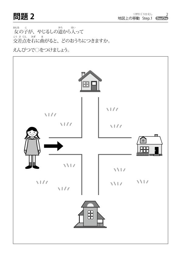 地図上の移動-サンプル1