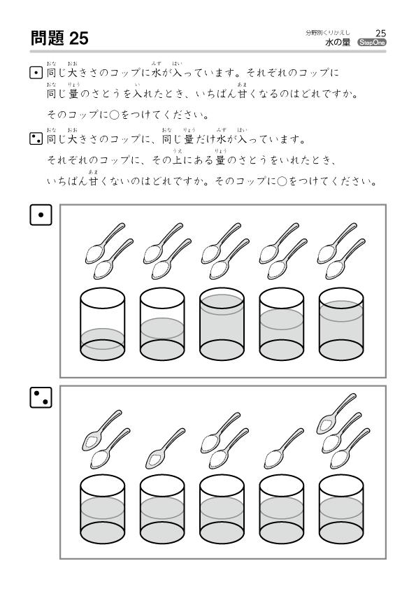 水の量-サンプル3
